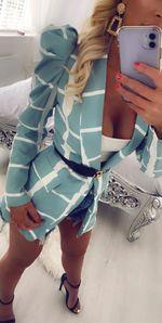 Style icon jacket mint