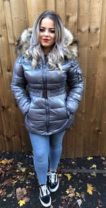 Russian lux coat grey