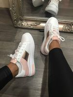 Miami trainer rose gold and pink