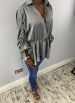 Stacey top grey