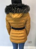 Russian dream coat mustard