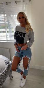 Coco jumper not cropped grey