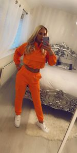 New Maldives tracksuit Orange