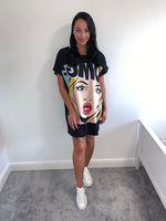 Omg tshirt/dress black