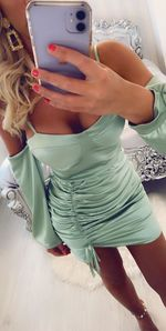Knightsbridge dress mint