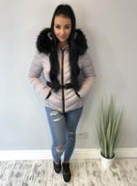 New monclaire coat grey