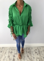 Stacey top bottle green