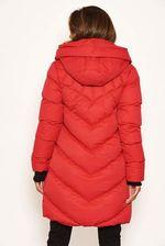 Winter dreams coat red