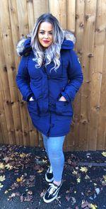 Canadian goose coat blue