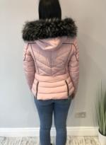 Canada goose coat pink