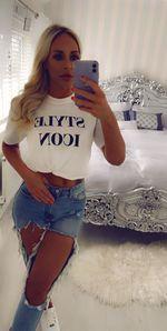Icon tshirt white