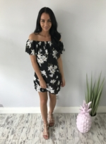 white lilly dress