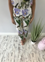 Tropical beach jumpsuit