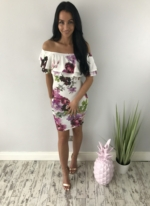 blossom dress white
