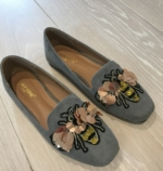 Busy bee loafer grey