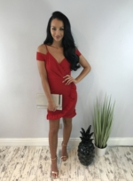 SIA DRESS RED