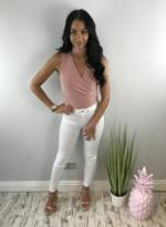 crazy love bodysuit blush