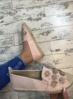 Daisy espadrilles blush