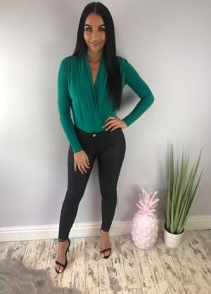 Simple Green Bodysuit