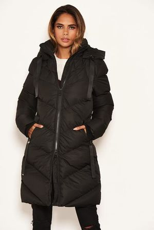 Winter dreams coat black