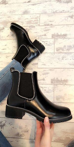 Loraine boots pu black