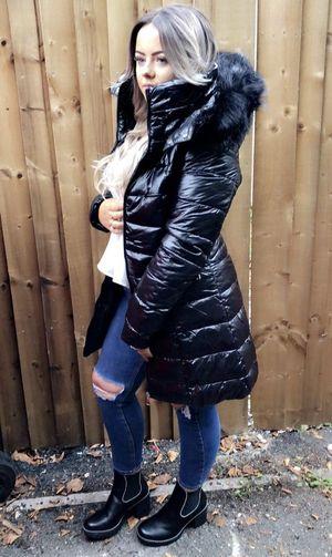 New winter dream coat black.