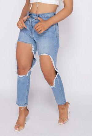 Crazy girl jeans blue