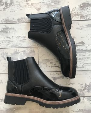 Autumn rush boots black