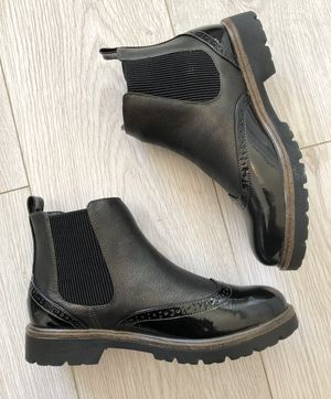 Autum rush boots black metallic