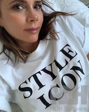 Style icon tshirt white