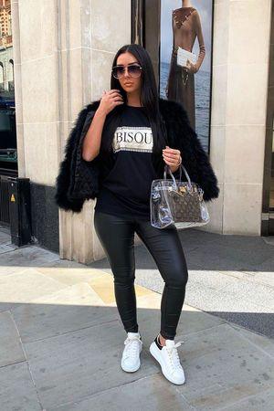 Bisous tshirt black