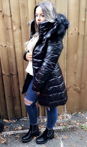 Winter dream coat black