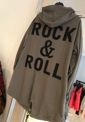 Rock and roll jacket khaki