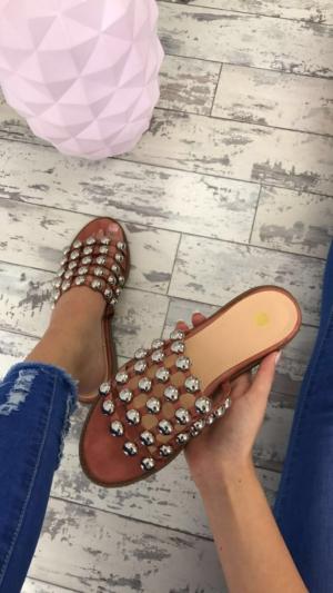 Chantelle sandals blush