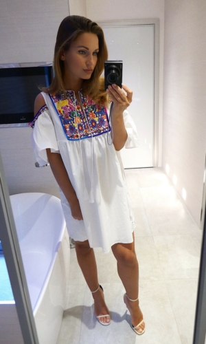 Sammy dress white