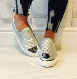 Channel style silver