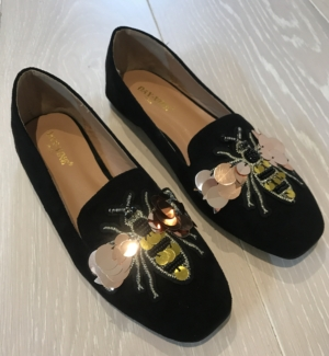 Busy bee loafer stone