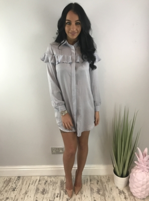 Louise dress grey