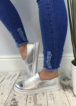 Jasmin pumps silver